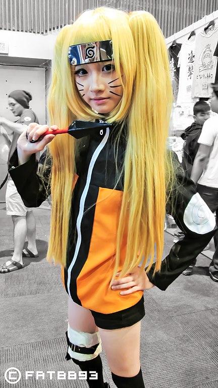 FileAMG14 Cosplayer Of Naruto Uzumaki Female Ver From
