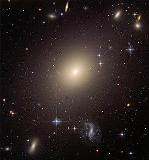 Hubble Illuminates Cluster of Diverse Galaxies...