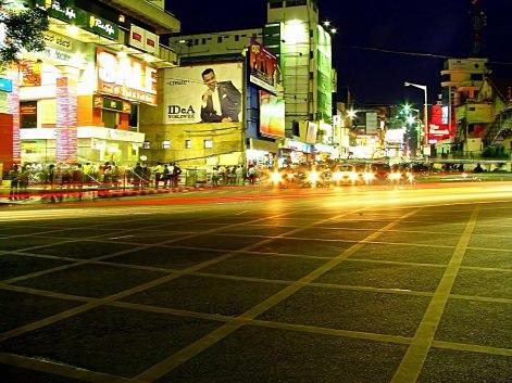bangalore mg road night