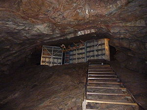 Cheese maturing in the caves at Cheddar Gorge
