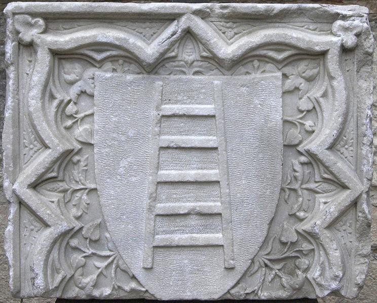 Fregio con lo stemma degli Scaligeri