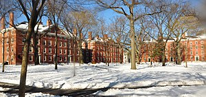 Harvard Yard winter 2009