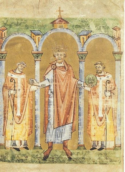 10th century clothing. Medieval Nobility Costumes. German Emperor Henry II