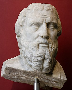 Portrait of Herodotus, identified after other ...