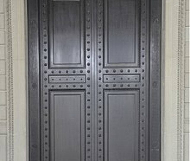 The Bronze Doors Of The National Archives Building In Washington D C Each Is  In   M Tall And Weighs Roughly   Short Tons   T
