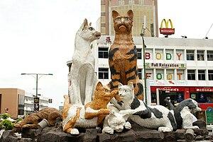 Cat Statue.(Kuching, Sarawak, Malaysia)