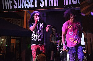 English: LMFAO at the Sunset Strip Music Festi...