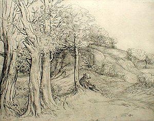 Legros - solitude (paysage)