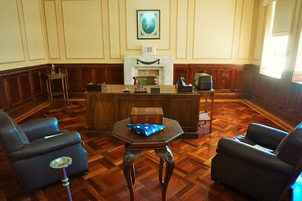 MacArthur Museum Brisbane - Joy of Museums - General Douglas MacArthur's GHQ Office in Australia