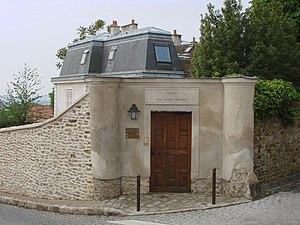 Montmorency, France, Musée Jean-Jacques Rousseau