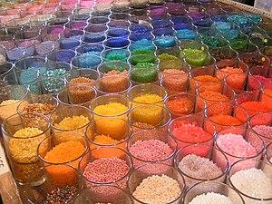 A percepção de cores: um dos aspectos da percepção visual.