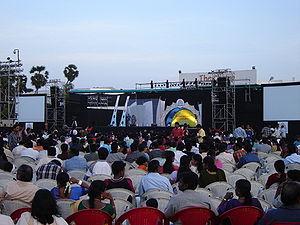 Satyam Chennai employees at Satyamotsav, an an...
