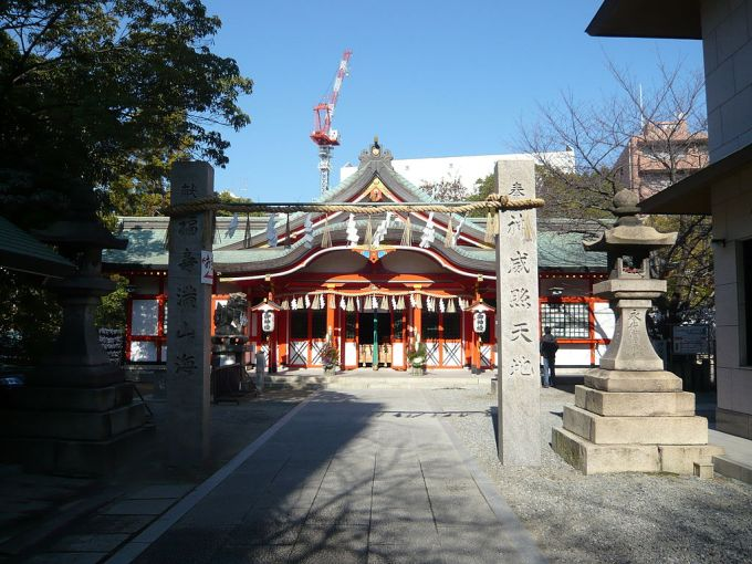 Tamatsukuri-inari-jinja haiden