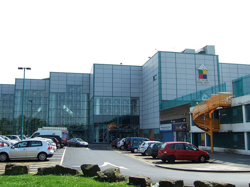 The concourse shopping centre