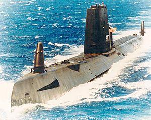 Gudgeon (SS-567) underway, circa 1970s
