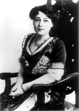 Alice Guy portrait picture Italiano: Foto di A...