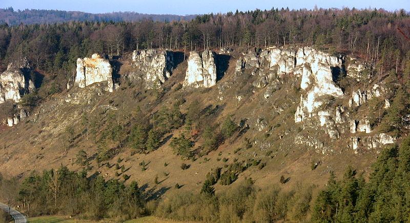 Altmühltal Felsengruppe