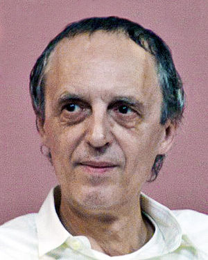 Dario Argento answers questions at the Brussel...
