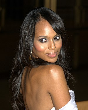 English: Kerry Washington at Metropolitan Oper...