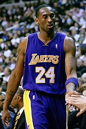 Kobe Bryant at a game