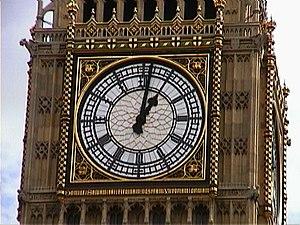 Big Ben in London.