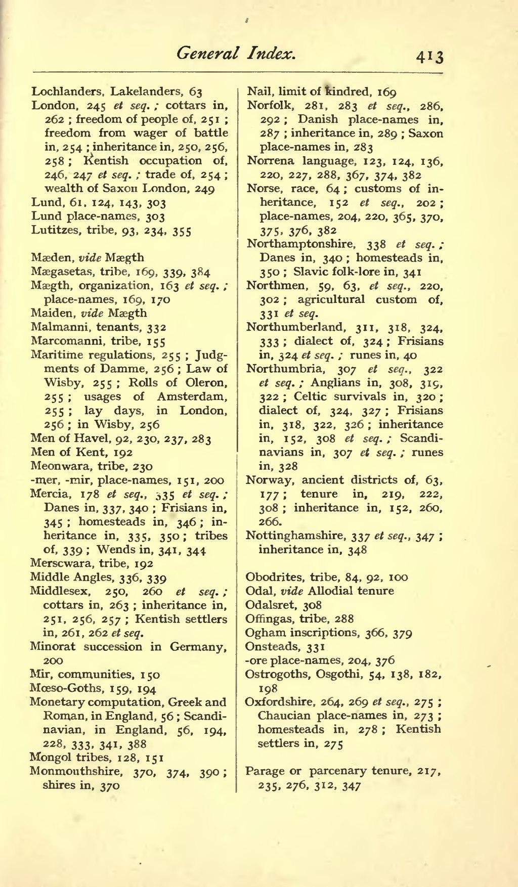 Page Origin Of The Anglo Saxon Racevu 427