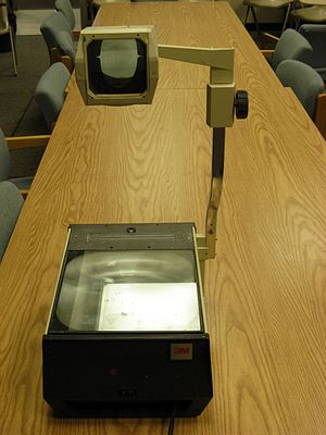 Overhead projector 3M 02