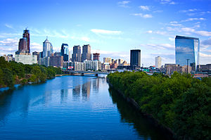 English: Philadelphia skyline