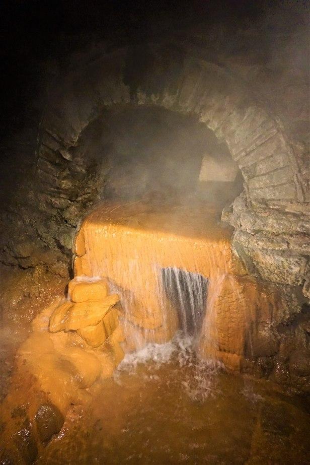 The Sacred Spring Overflow - Roman Baths (Bath)