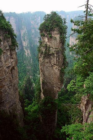 Wulingyuan, Zhangjiajie, Hunan Prov., China. T...
