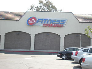 A 24 Hour Fitness Super-Sport in San Mateo, Ca...