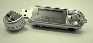 a digital mp3 player
