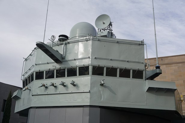 Australian War Memorial - Joy of Museums - HMAS Brisbane (D 41) - Bridge 2