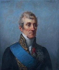 Polycarpe, vicomte de La Rochefoucauld, duc de Doudeauville, ministre de la Maison du roi, Pierre-Louis Delaval, 1827