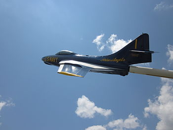"A former U.S. Navy ""Blue Angels"" Gru..."