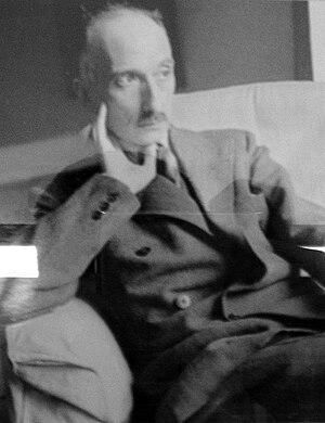 English: François Mauriac in 1932 Français : F...