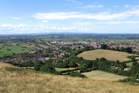 Image result for Glastonbury, Somersetshire County