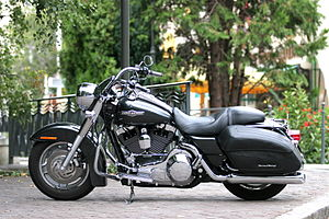English: Harley Davidson Road King Custom, yea...