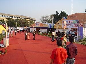 Infocom is the largest IT fair in Kolkata