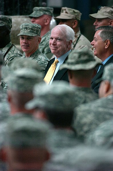 File:John McCain and Lindsey Graham Al-Faw Palace Iraq.jpg