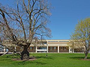 Elton S. Karrmann Library at the University of...