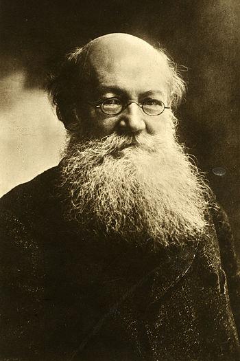 English: Peter Kropotkin, russian anarchist.