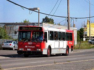 OC Transpo bus 9819