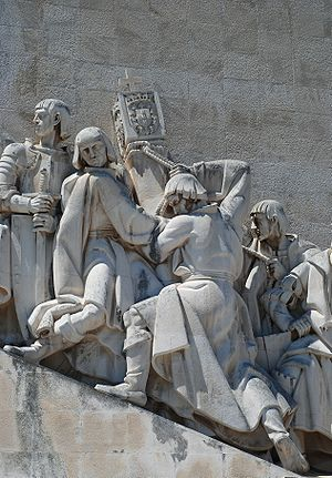 English: Monument to the Portuguese discoverie...
