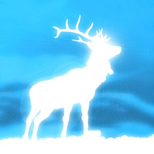 English: Harry Potter's deer-shaped patronus E...