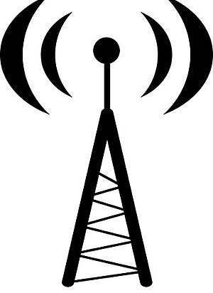 Radio Tower Graphic