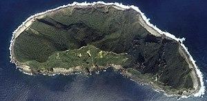 Uotsuri-jima, one of the Senkaku Islands aeria...