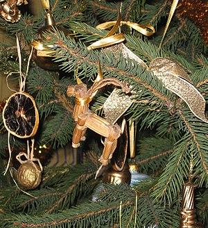 en: Yule Goat - a scandinavian christmas symbol