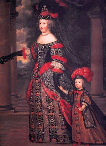 File:Charles Beaubrun María Teresa de Austria y el Gran Delfín.jpg