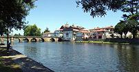Chaves, a Ponte Romana e Rio Tâmega, a Madalen...